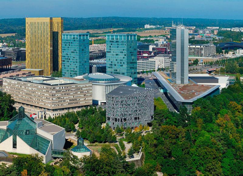 Convention Park - vue aérienne