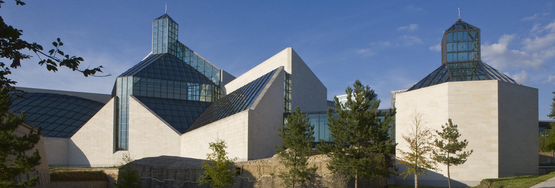 façade Mudam Luxembourg