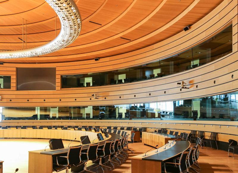 Plénière 2 - Cabines de traduction